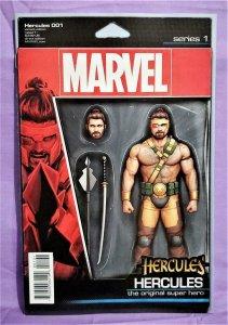 Dan Abnett HERCULES #1 Action Figure Variant Cover (Marvel, 2016)!