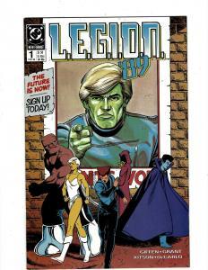 Lot of 12 Legion DC Comic Books #1 2 3 4 5 6 7 8 9 10 11 12 J404