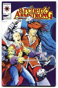 Archer and Armstrong #8 Valiant comic book 1993 1st Ivar the Timewalker