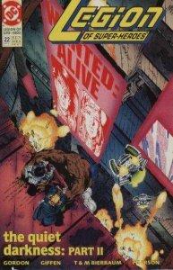 Legion of Super-Heroes (1989 series) #22, VF+ (Stock photo)