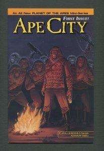Ape City #1  /  8.5 VFN+  / August 1990