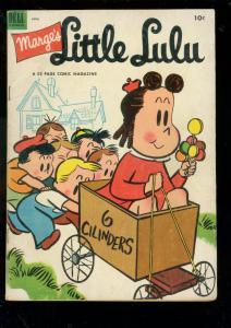 MARGE'S LITTLE LULU #58 1953-DELL COMICS-LOLLIPOP COVER VG