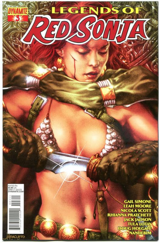 LEGENDS of RED SONJA #3, NM-, She-Devil, Sword,  Anacleto, 2013,more RS in store