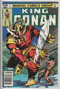 King Conan #11 (Jul-82) NM- Super-High-Grade Conan the Barbarian