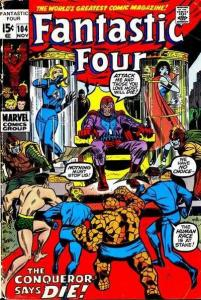 Fantastic Four (1961 series) #104, VF- (Stock photo)