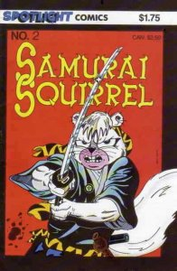 Samurai Squirrel #2 FN; Spotlight | save on shipping - details inside