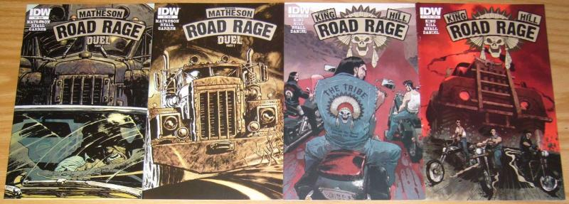 Road Rage #1-4 VF/NM complete series - stephen king - joe hill - A variants set