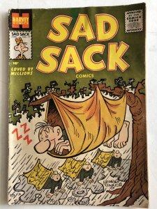 Sad Sack 71,VG, great art by Baker!