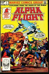 ALPHA FLIGHT #1-MARVEL COMICS-FIRST ISSUE NM