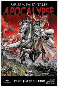 GFT Grimm Fairy Tales Apocalyse #3 Cvr D (Zenescope, 2016) NM