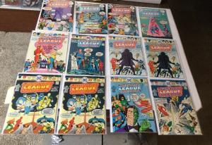 Justice League Of America 117 118 119 120 121 122 123 123 125 4.0-6.0 Sub-fold