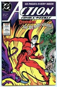 Action Comics Weekly 610 Jul 1988 NM- (9.2)