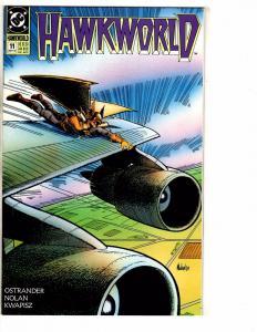 Lot Of 10 Hawkworld DC Comic Books # 11 12 13 14 15 16 17 18 19 20 Hawkman PP5