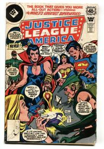 JUSTICE LEAGUE OF AMERICA #161 Whitman variant! comic 1978-ZATANNA