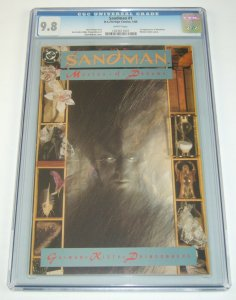 Sandman #1 CGC 9.8 white pages - neil gaiman - sam kieth - dc comics