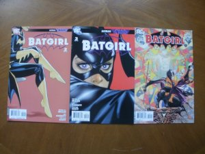 3 DC Comic: BATGIRL #2 #3 (Batgirl Rising Batman Reborn 2009) & #21 The Lesson