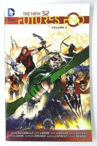 New 52: Futures End Trade Paperback #2, NM (Stock photo)