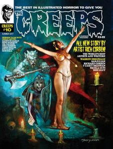 THE CREEPS #10 - FIRST PRINTING - COMIC HORROR MAGAZINE