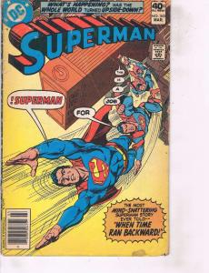 Lot Of 2 DC Comic Book Superman #342 and Blue Devil #6 ON14