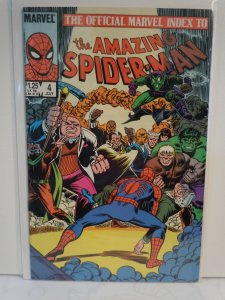 Official Marvel Index to the Amazing Spider-Man #4