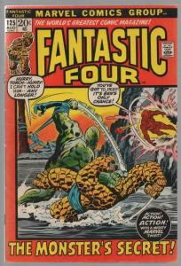 FANTASTIC FOUR 125 VG-F Aug. 1972