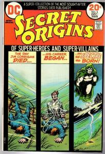 SECRET ORIGINS (1973) 5 FN  Dec. 1973 SPECTRE
