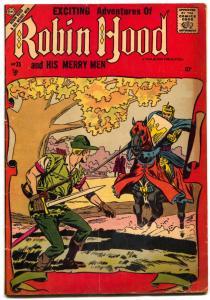 Robin Hood and His Merry Men #35 1958- Charlton Comics- VG