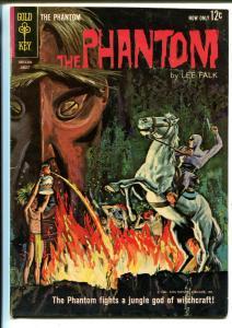 Phantom #4 1963-Gold Key-fights witchcraft-VG