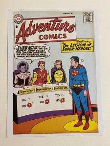Adventure Comics #247 Superboy Legion of Super Heroes DC Comics poster Curt Swan