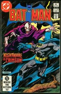 BATMAN #350-1982-DC VF