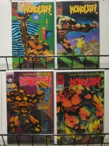 MONOLITH (1991 C) 1-4  KELLY JONES, ELEMENTALS SPINOFF!