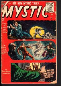 MYSTIC #46 1956-ATLAS-DON HECK-PRE-HERO-HORROR