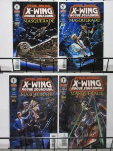 STAR WARS X-WING SQUADRON #28-31(Dark Horse, 1995)MASQUERADE complete storyVF-NM