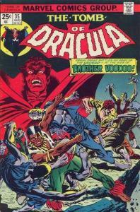 Tomb of Dracula (1972 series) #35, VF- (Stock photo)