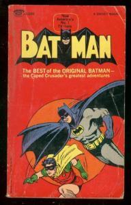 BATMAN PAPERBACK 1966-FIRST PRINTING-ORIGIN FROM TEC 27 VG/FN