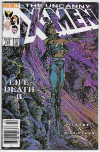 Uncanny X-Men   vol. 1   #198 VG (Lifedeath 2) Storm, Claremont/Windsor-Smith