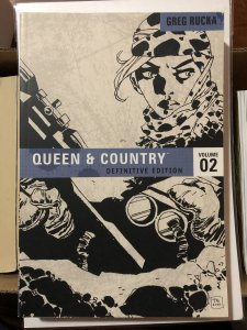 Queen & Country: Definitive Edition #2 (2008) NM