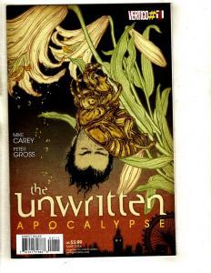 Lot Of 12 Unwritten DC Vertigo Comic Books # 1 2 3 4 5 6 7 8 9 10 11 12 CJ4