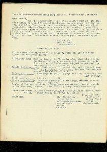 FAN INFORMER ADVERTISING SUPPLEMENT #1-RARE 1966 COMIC FN
