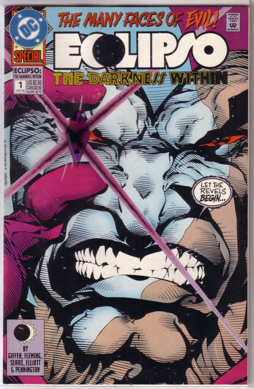 Eclipso: Darkness Within   #1 of 2 VF/NM