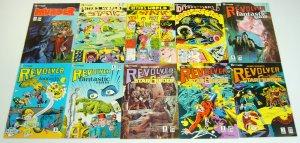 Robin Snyder's Revolver #1-12 VF/NM complete series + annual - steve ditko set