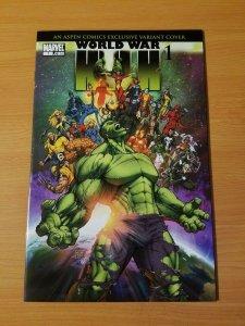 World War Hulk #1 Aspen Comics Variant ~ NEAR MINT NM ~ (2007, Marvel Comics)