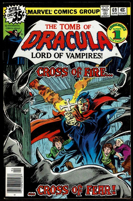 Tomb of Dracula #69  (Apr 1979 Marvel)  7.5 VF-
