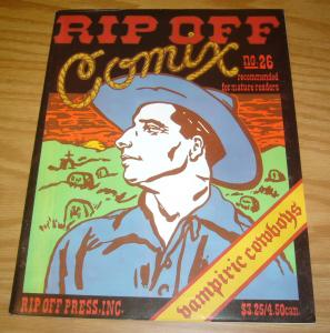 Rip Off Comix #26 FN (1st) mary fleener - j.r. williams - carol lay - r.l. crabb