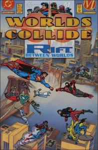 DC WORLD'S COLLIDE #1 NM Colorforms Cover