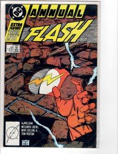 Flash Annual (1987) #2 NM- (9.2)