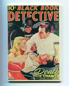 BLACK BOOK DETECTIVE-REPRODUCTION-LIMITED EDITION-DEATH FOR CHARITY-SUMMER