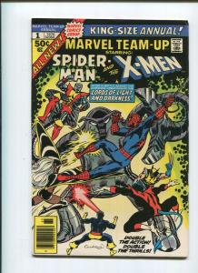 MARVEL TEAM-UP ANNUAL #1 Early New X-MEN Appearance! Bronze Age