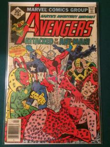 The Avengers #161 Attacked by the Ant-Man!
