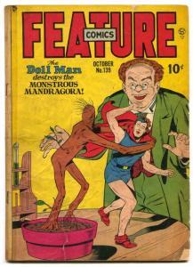 Feature Comics #139 1949- last DOLL MAN appearance G